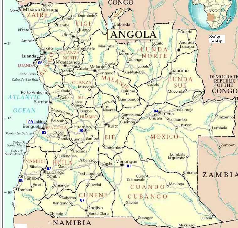 mapa dos rios de angola http://.uniaonet.com/afangola.htm mapa dos rios de angola